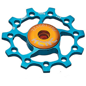 KCNC Jockey Wheel cuscinetti ceramica 12 denti, blue